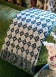 Silver Lambswool Texture Weave Blanket AA04/GH1827