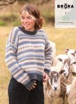Charcoal & sky Campaign For Wool Jumper CW2100KM9106