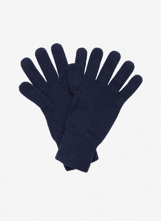 French Navy Men's Cashmere Gloves GHM60/A6021