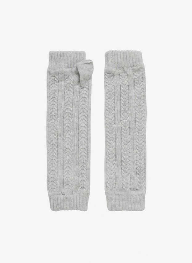Pearl Cashmere Cable Wristwarmers GL111/A0086