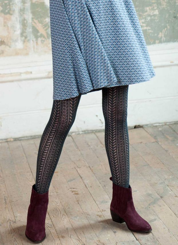 Diesel Cashmere Lace Knit Tights WK003H9025