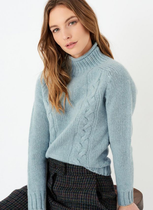 Haar Supersoft Lambswool Cable Jumper C4B022CB203