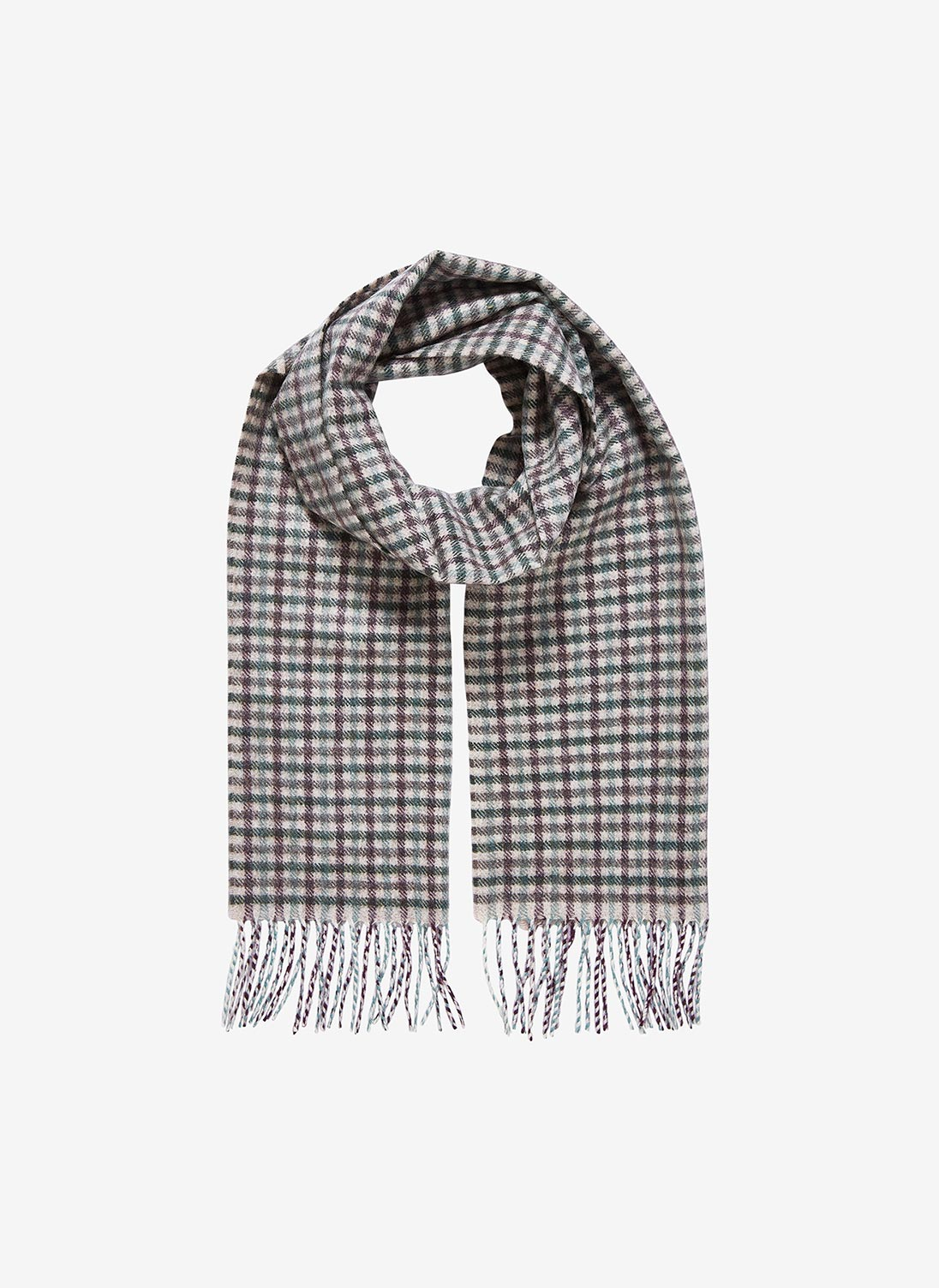 3e4f48953f91c Cashmere Plaid ScarfIn French Navy. $105.00$225.00. Add to Bag. Quick View