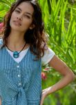 Tagua Seed Circle Necklace