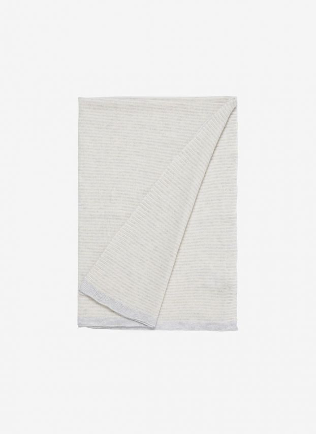 Cashmere Knitted Baby Blanket