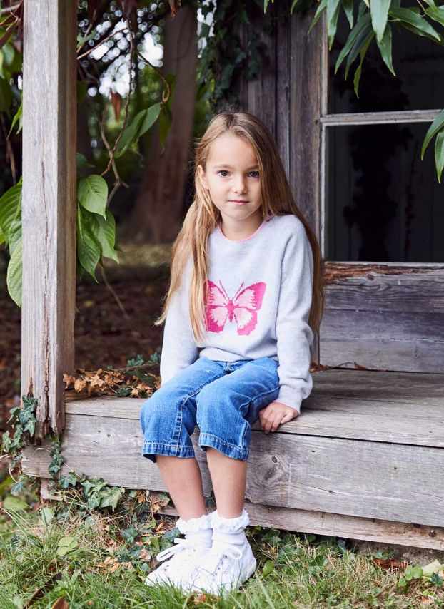 Cashmere Butterfly Jumper