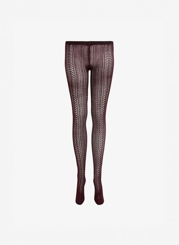 Cashmere Lace Knit Tights