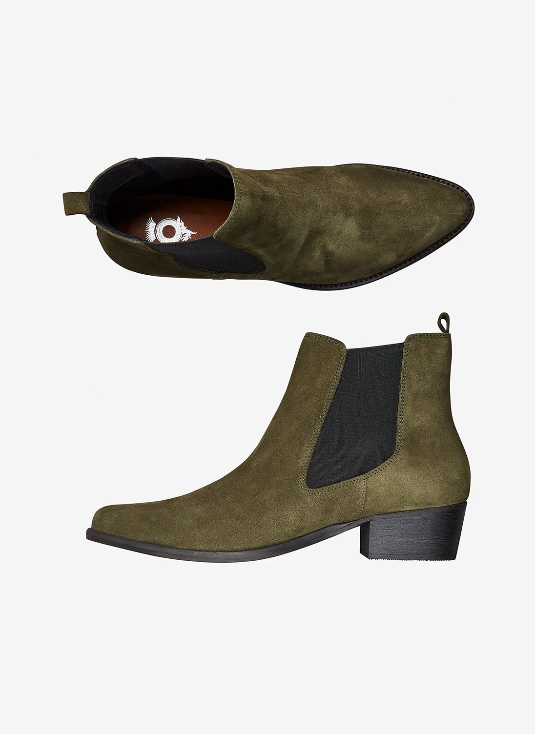 Suede Pull On Ankle Boots | Women's