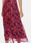 Hibiscus floral Liberty Floral Silk Chiffon Skirt DS1839FL1834