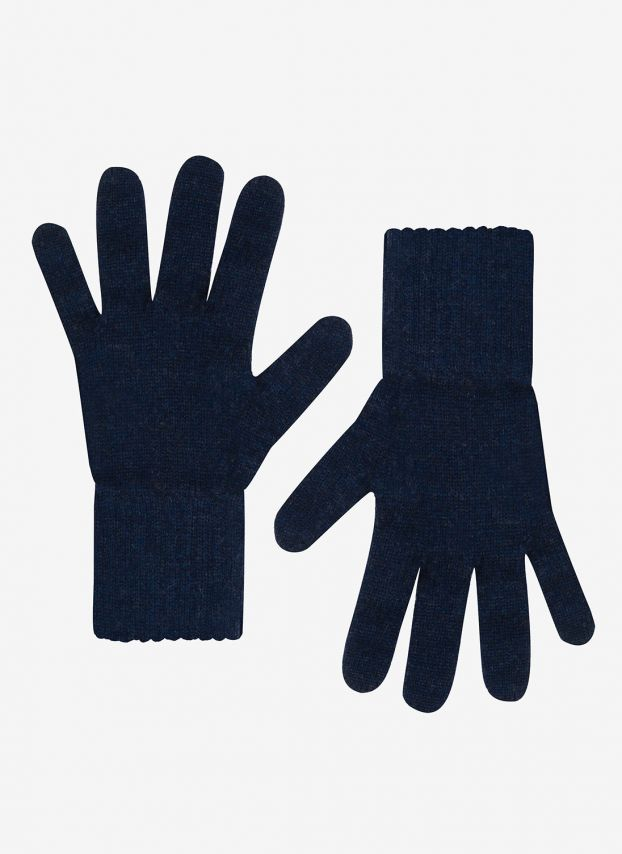French Navy Women's Cashmere Gloves GIL55/A6021