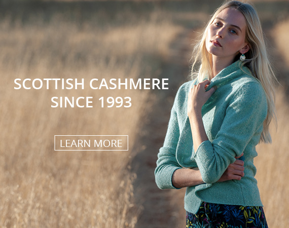 Learn more about Brora's Scottish Cashmere
